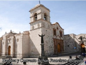 basilica San francisco Arequipa